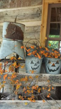 20 Rustic Halloween Decor Ideas