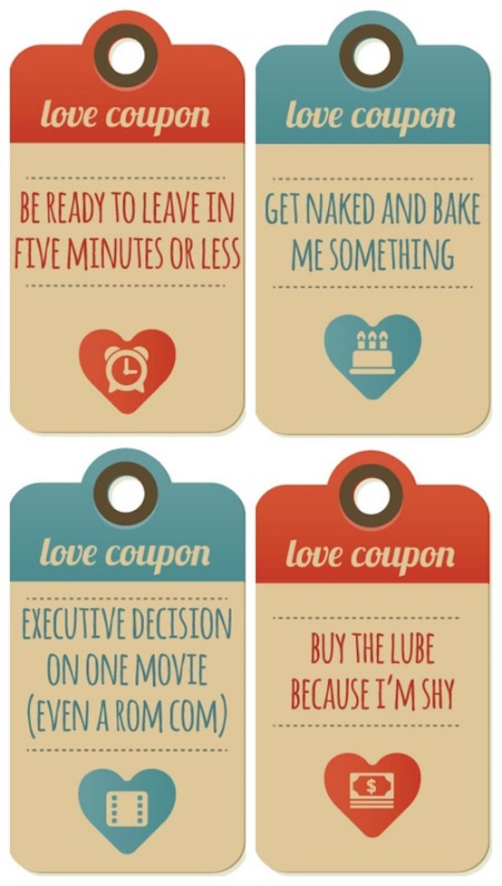 15 DIY Valentines Gifts Love Coupons To Inspire You Feed Inspiration
