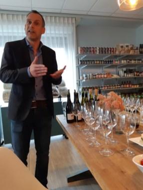 En natuurlijk de wijnworkshop!