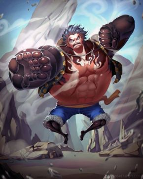 Gear 4th - Bounce Man - Monkey D. Luffy