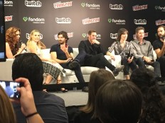 Cast of new Resident Evil movie.