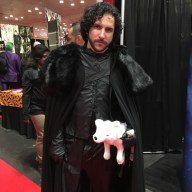 John Snow with Ghost