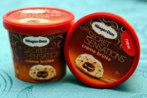 Häagen-Dazs Secret Sensations Crème Brûlée Eis