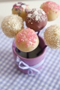 Cake Pops zum Verschenken Rezept und Anleitung