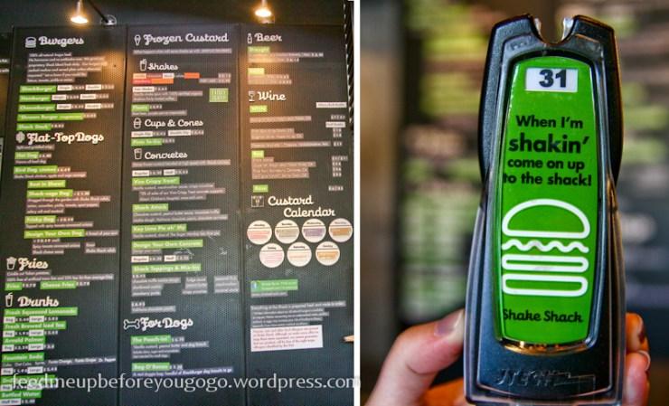 Burger bestellen bei Shake Shack USA