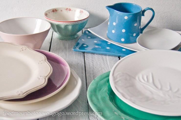 Hübsches neues Geschirr Teller von Ikea, Kare, Butlers, Zara