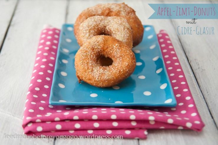 Apfel-Zimt-Donuts mit Cidre-Glasur Rezept