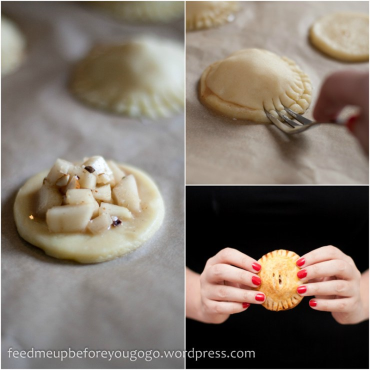 Hand Pies mit Birnen-Amaretto-Füllung-5