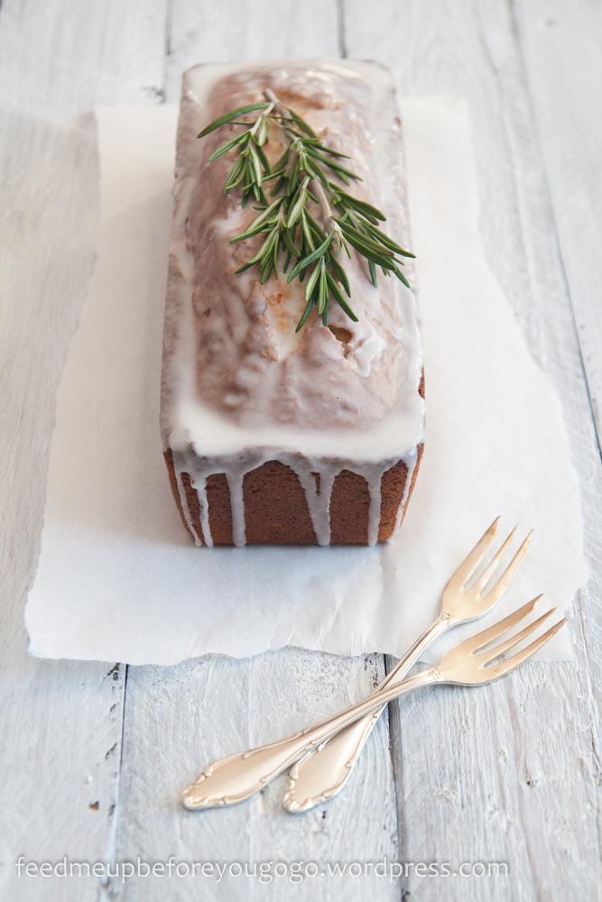 Rosmarin-Vanille-Kuchen