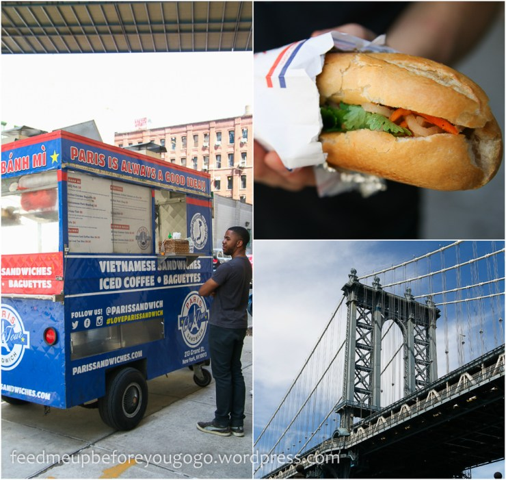 Banh mi Paris Sandwich Food Truck New York kulinarische Tipps Brooklyn