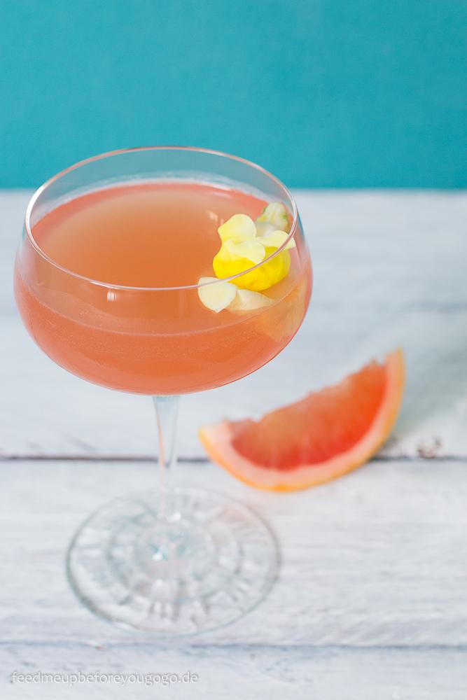 Grapefruit Rose Drink Rezept Spiegelau Perfect Serve Collection Cocktailgläser Feed me up before you go-go -4