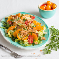 Fattoush mit Orangen Rezept Feed me up before you go-go