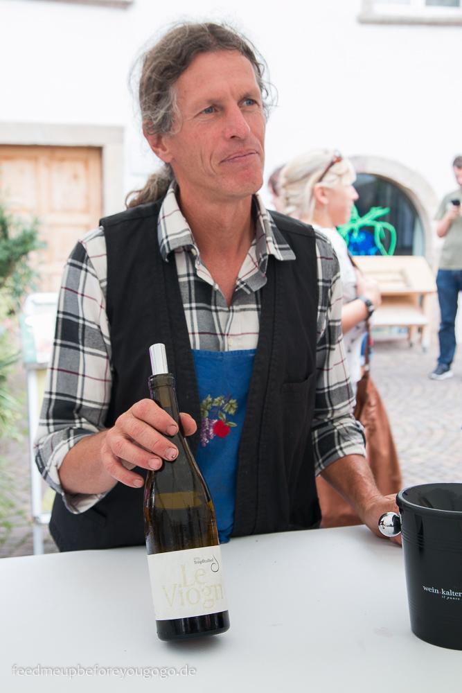 Tröpfltalhof Kalterer Weinkulinarium Kaltern Südtirol Italien Feed me up before you go-go