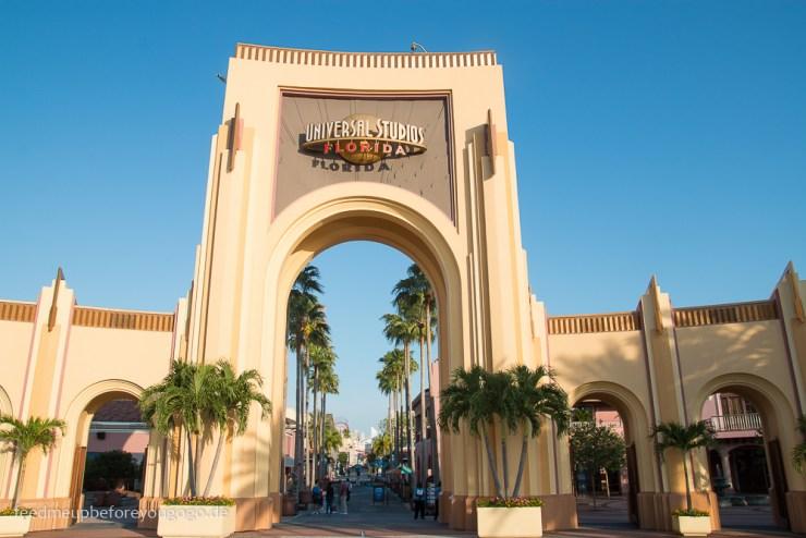 Eingang Universal Studios Orlando