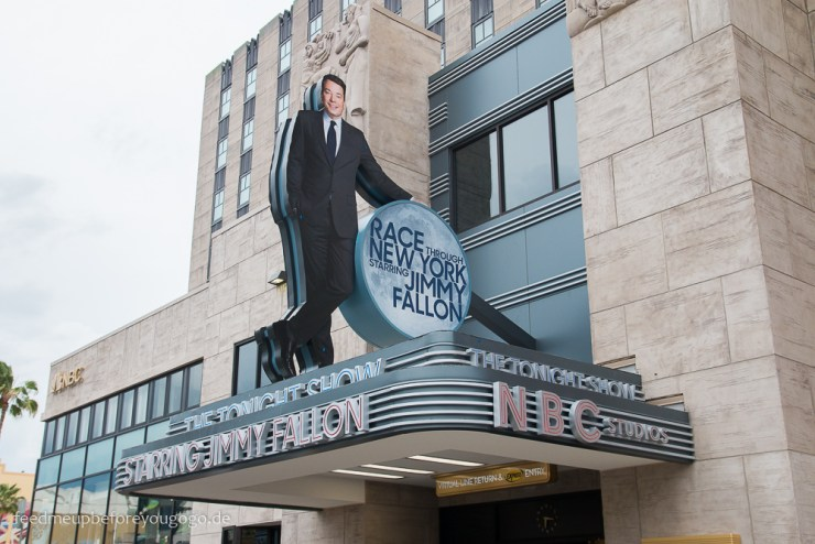 Race through New York Jimmy Fallon neuester Ride Universal Studios Orlando