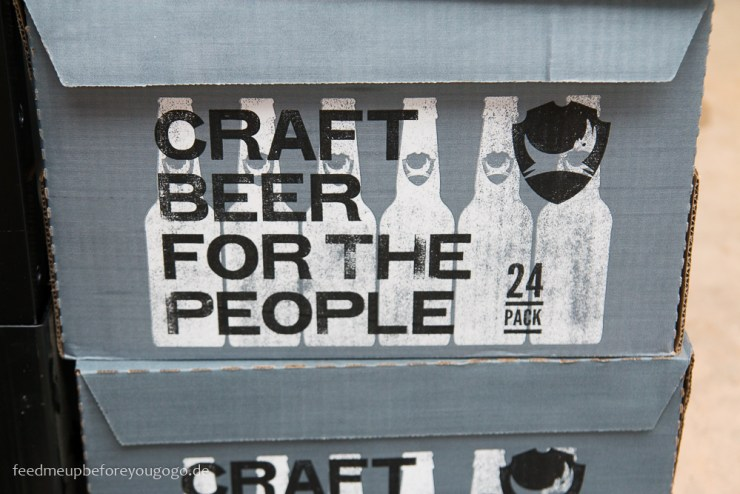 Craft Beer for the people Bierkarton Craft-Beer-Tasting München