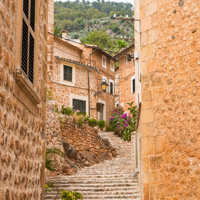 Fornalutx Mallorca Treppen