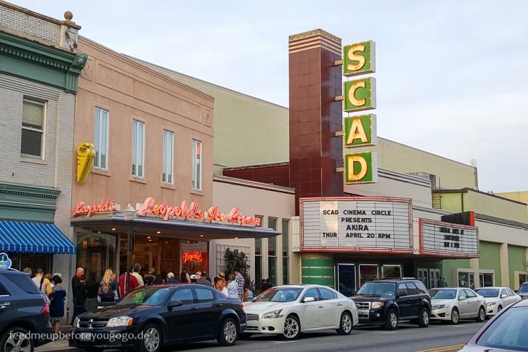Savannah Georgia SCAD Kino Leopold's Südstaaten