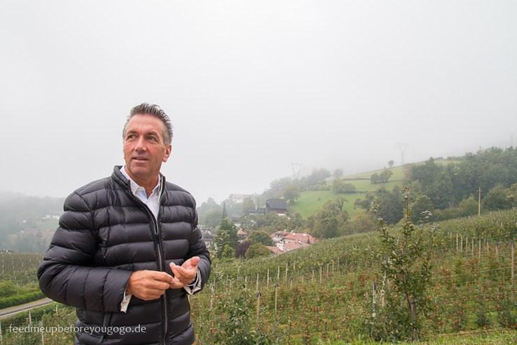 Thomas Kohl Bergapfelsaft vom Ritten Berge Südtirol Italien