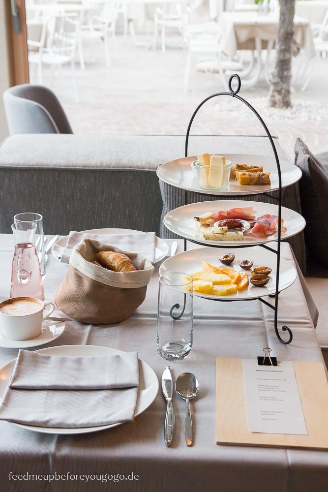 Kaltern Das Wanda Boutique-Hotel Frühstück Restaurant Südtirol Italien
