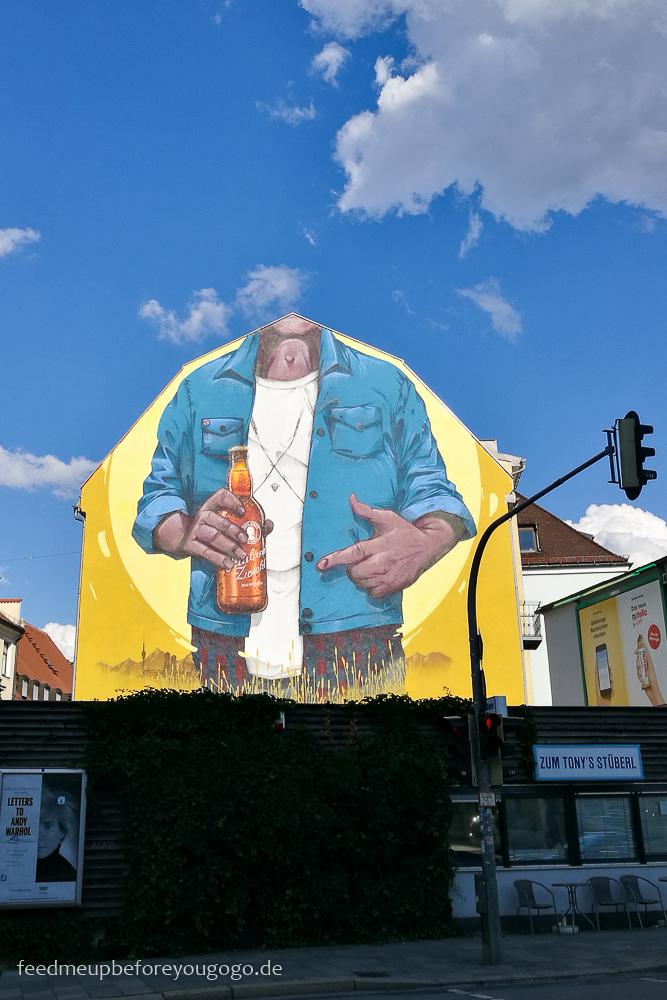 Lange Nacht der Brauereien 2017 München Mural Giesing