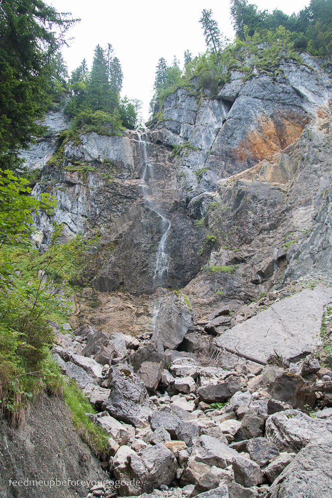 Scheuenwasserfall Wanderung Balderschwang Allgäu