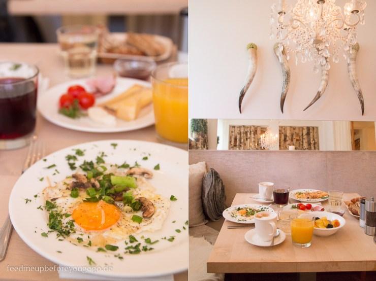 Frühstück Hubertus Alpin Lodge & Spa Balderschwang