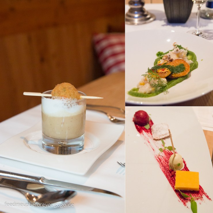 Menü Restaurant Hubertus Alpin Lodge & Spa Balderschwang Allgäu