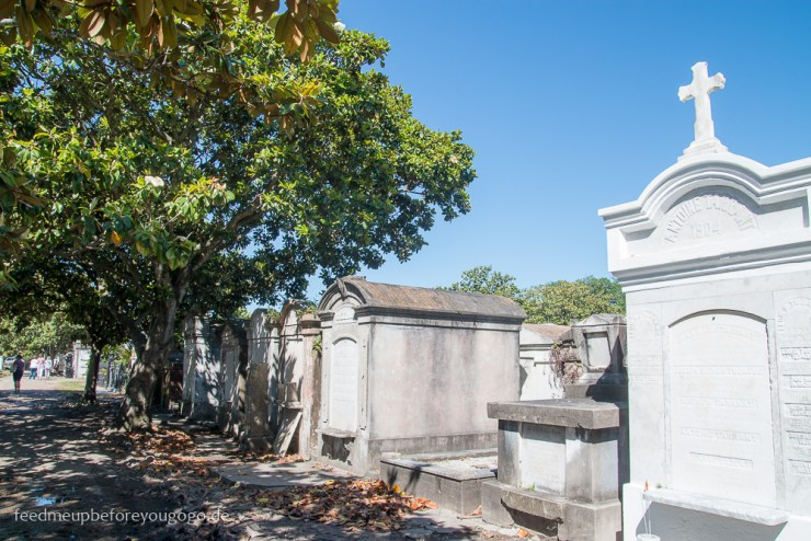 3 Tage in New Orleans Lafayette Cemetery No 1 Grabsteine Friedhof