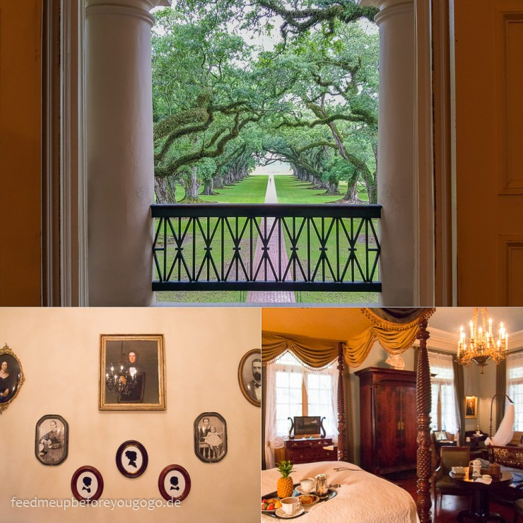 Oak Alley Plantation alte Eichenallee Vacherie Louisiana