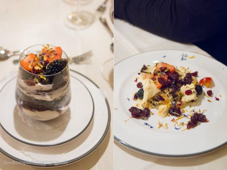 Berghotel Rehlegg Ramsau Dessert Restaurant Almstüberl Winter und Wellness im Berchtesgadener Land