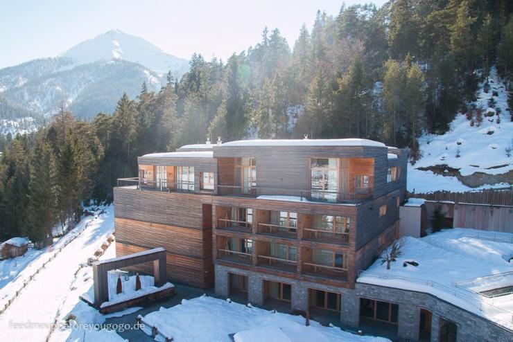 Das Kronthaler Hotel Achenkirch Tirol im Schnee