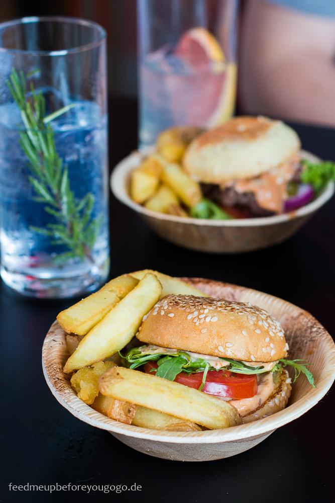 Veggie Burger Burger de Ville 25hours Hotel München