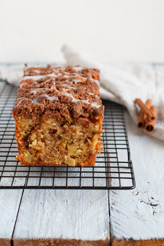 Apfel-Zimt-Kuchen mit Streuseln Rezept