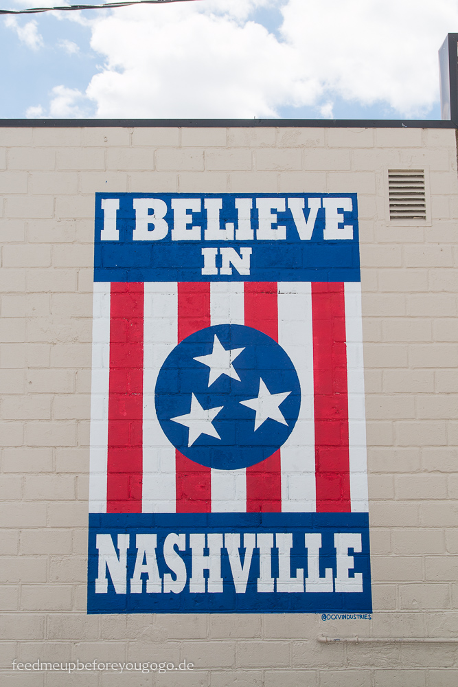 Nashville 12 South I believe in Nashville Mural