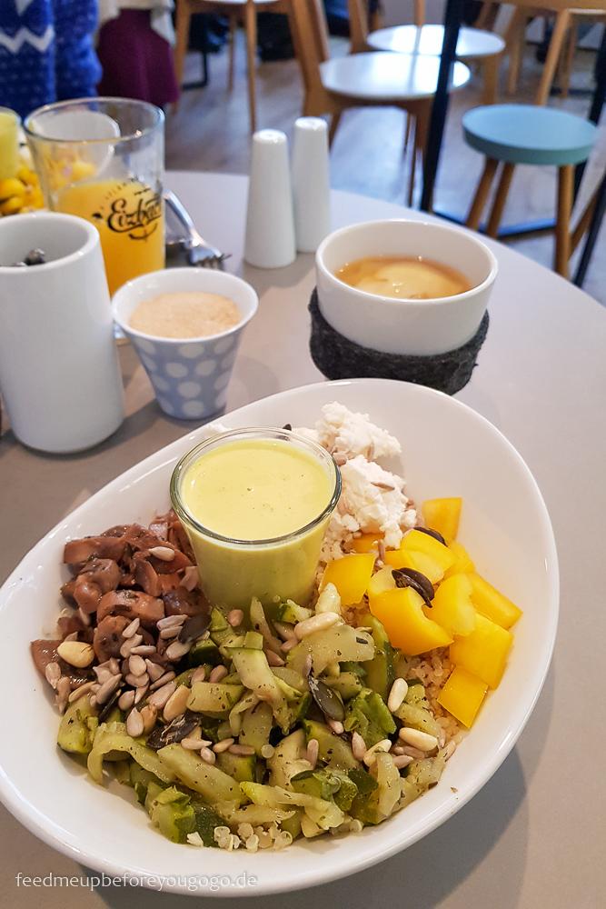 Café Blá isländisches Café München Lunch Bowl