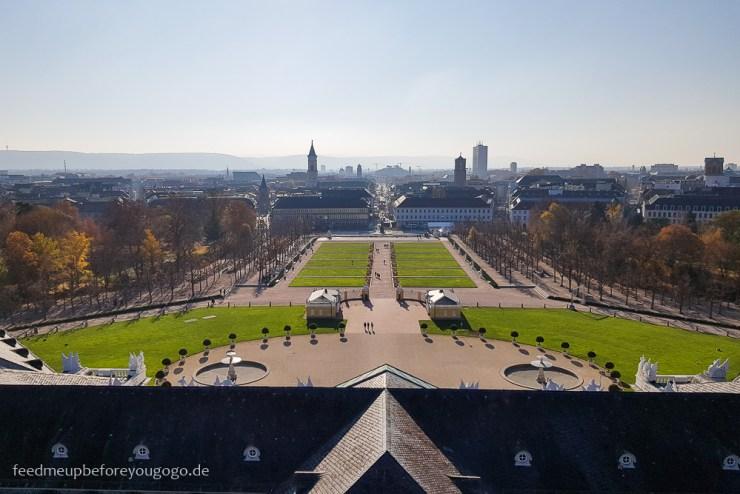 Reisetipps Karlsruhe Blick vom Schlossturm