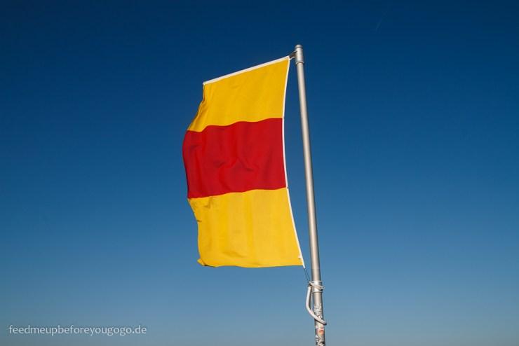 Reisetipps Karlsruhe Turmberg badische Flagge