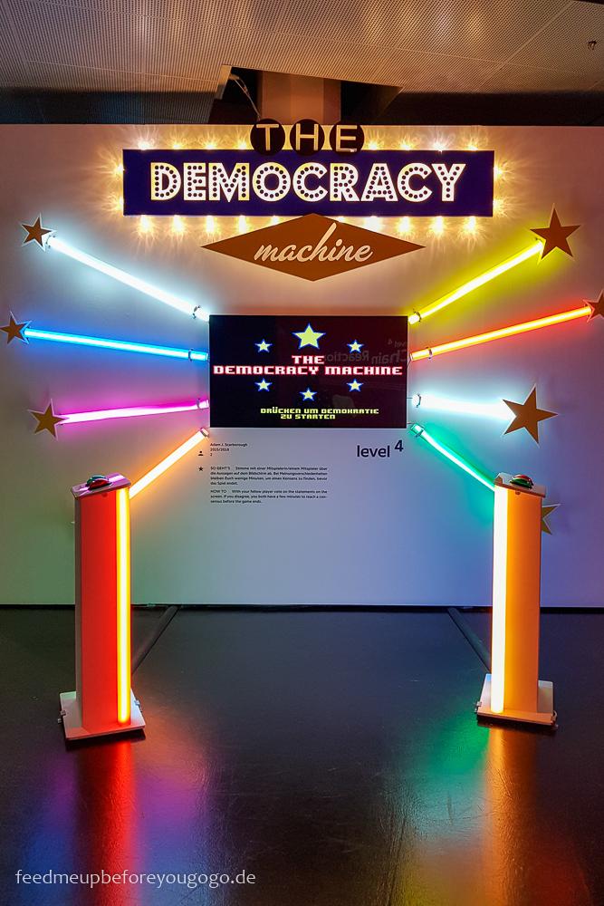 Reisetipps Karlsruhe ZKM The Democracy Machine