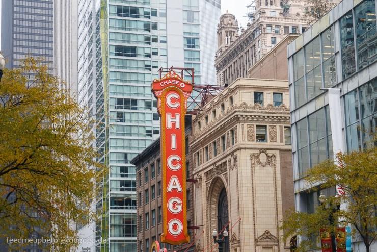 Chicago Theater kulinarische Tipps Food Guide