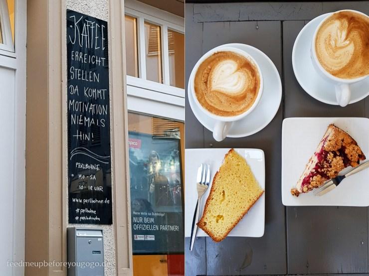 Café Perlbohne Kuchen Karlsruhe kulinarische Tipps