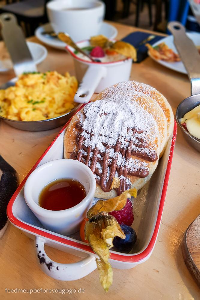 Frühstück im Bapas mit Pancakes München