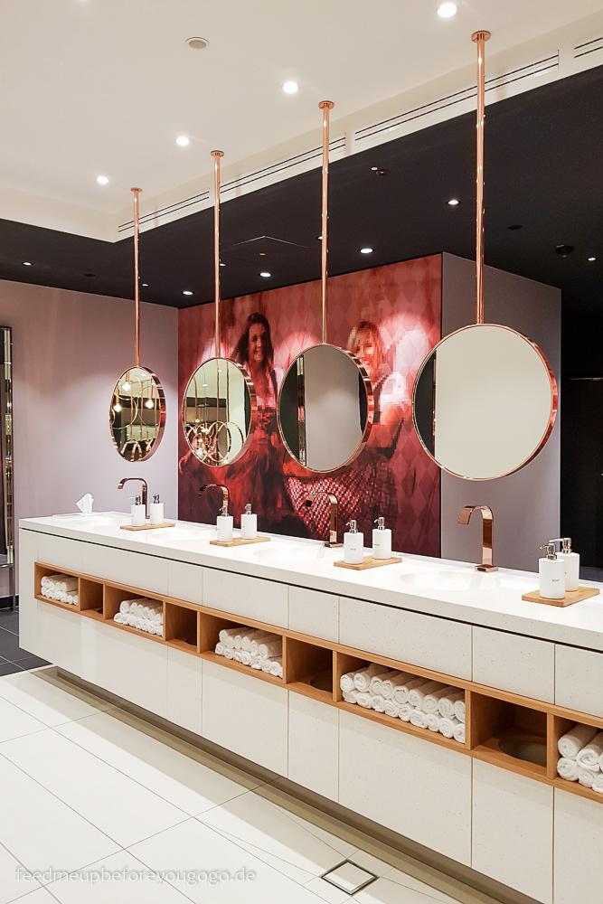 Die schönste Toilette Münchens im Andaz Hotel