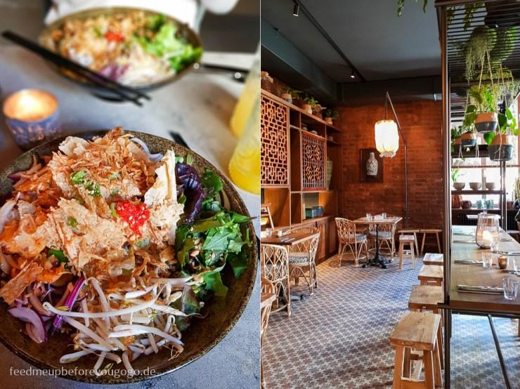 Bun Chay Reisnudelschale Saigon Deli München vietnamesisches Restaurant
