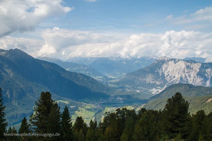 Blick auf die Berge vom Hochötz, Ötztal, Tirol