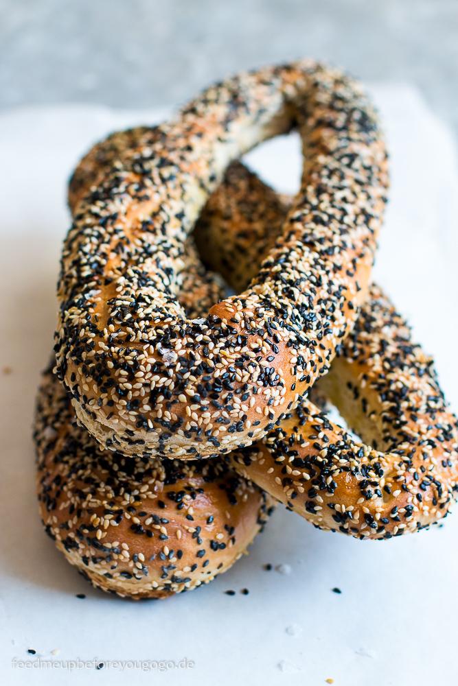 Jerusalem-Bagels Rezept