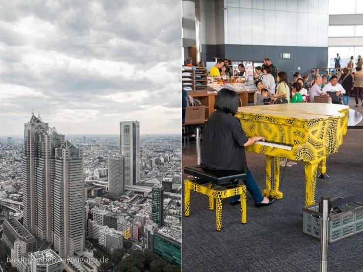Tokio Reisetipps Shinjuku Metropolitan Government Building Aussichtsplattform