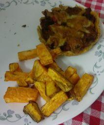 pie-with-sweet-potato-fries