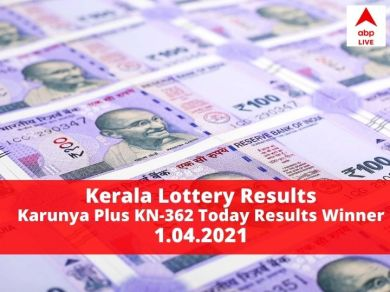 LIVE Kerala Karunya Plus KN-362 Lottery Result Winners List Today Out, Check Prize All Details