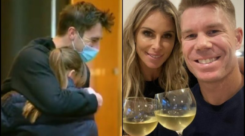IN PICS | Heartwarming! Australian Players Finally Reunite With Family Post IPL 14 Suspension